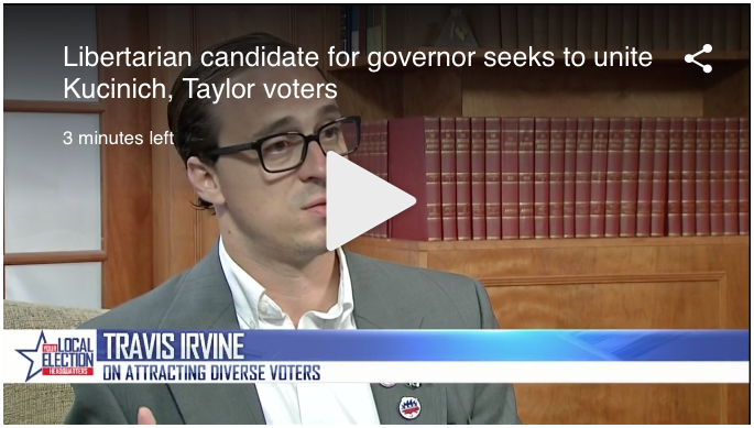 Watch Travis Irvine interview with NBC4i